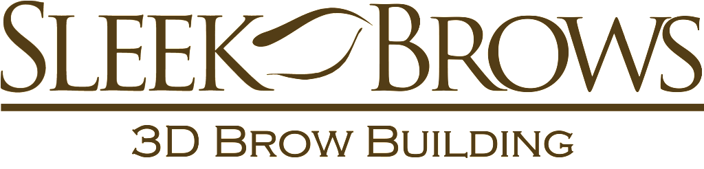 Sleej Brows Logo Large Clear backgrond Brown